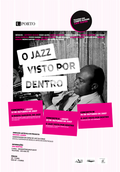 Cartaz O Jazz Visto Por Dentro