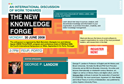 The New Knowledge Forge 2008